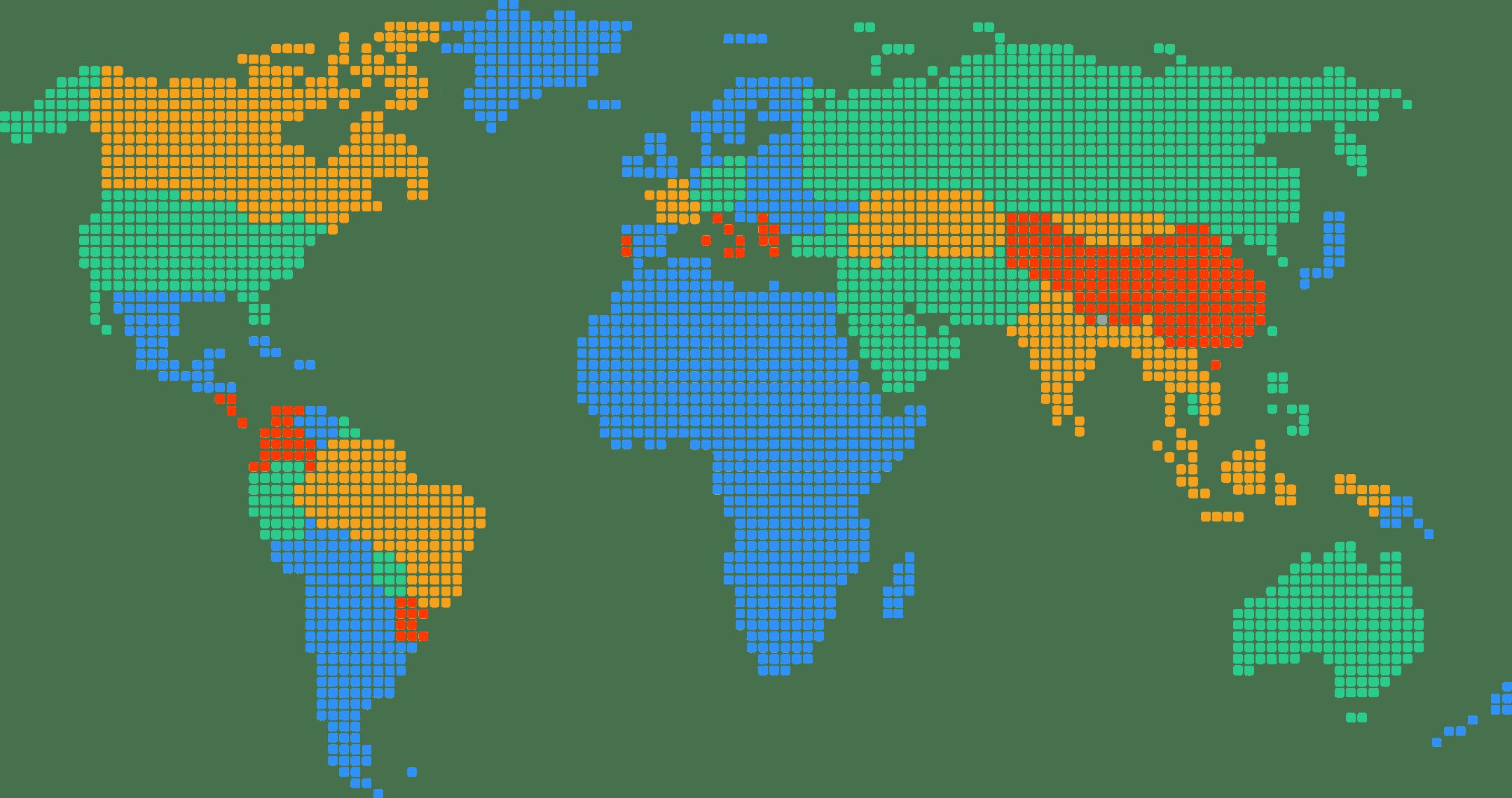 World Map Interamplify